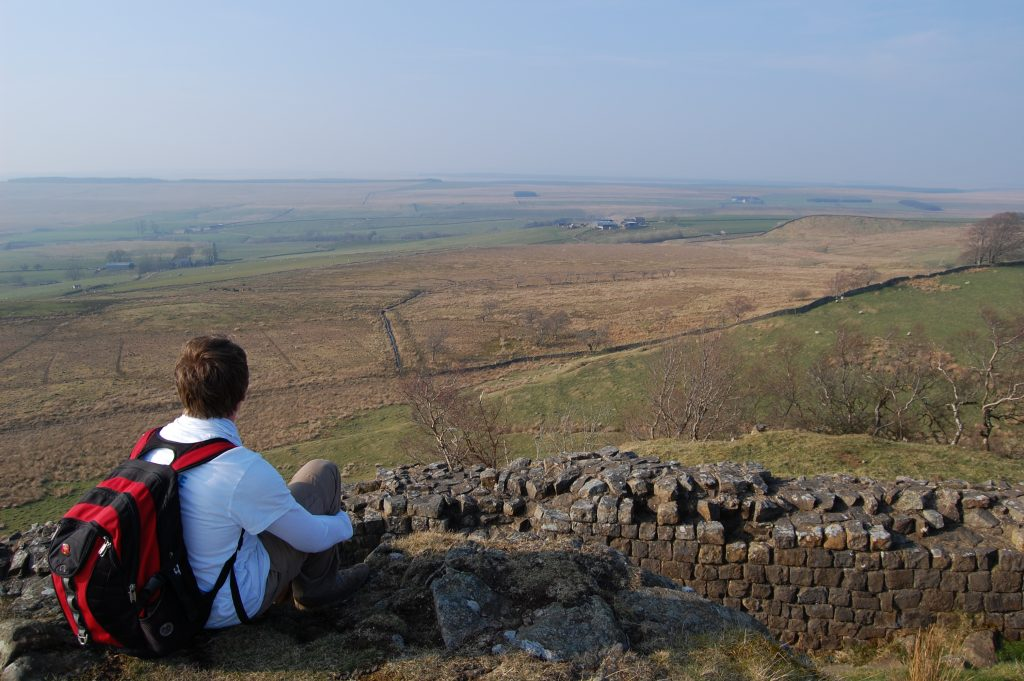 View over Hadrian's Wall